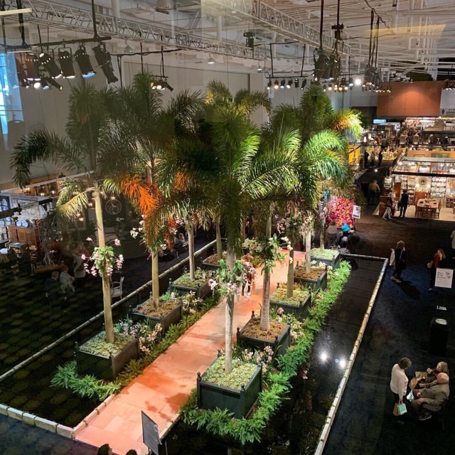 A view of this year's Antiques & Garden Show of Nashville.