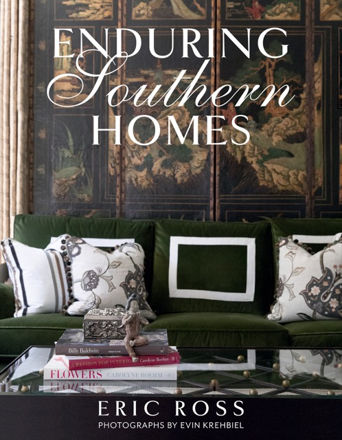 Enduring Southern Homes book cover.