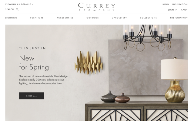 The New Currey & Company website is launched to culminate six months of celebration