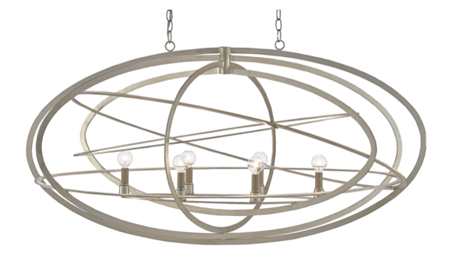 The Currey & Company Octavious Chandelier