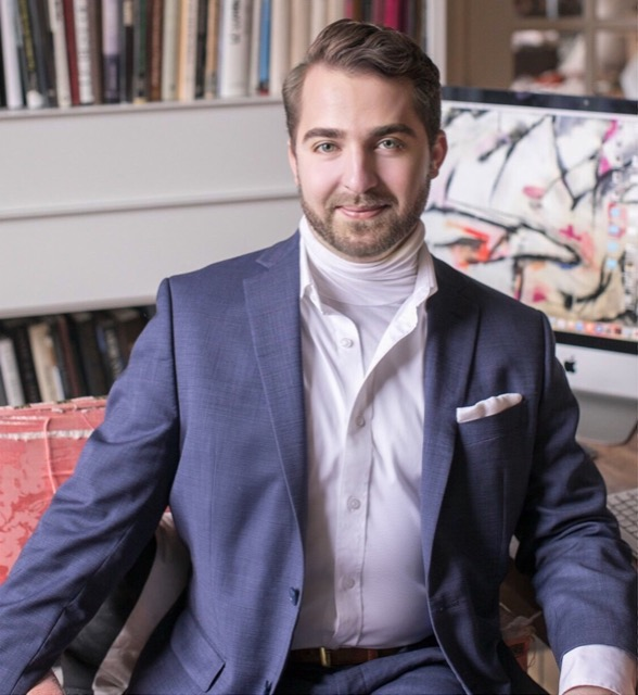 Stefan Alexander, who created a dreamy master bathroom in the Atlanta showhouse.