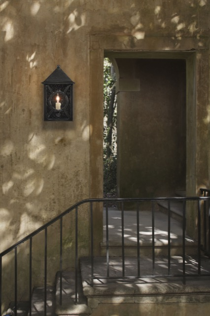The Ripley Outdoor Wall Sconce by Currey & Company