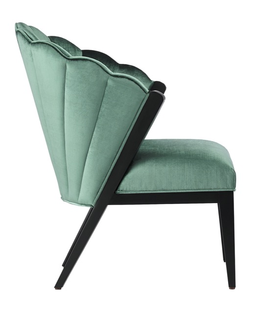 The new Janelle Chair from Currey & Company.