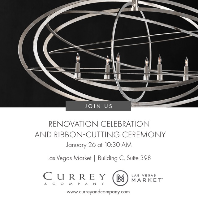 Renovation Celebration at Currey & Company Las Vegas Showroom