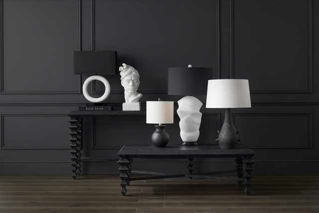 Among Brigette Fontenot's favorite products is our Saranya Black Console Table.