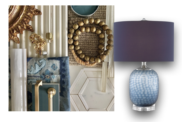 The Currey & Company Ionian Table Lamp is a Teresa Davis favorite.