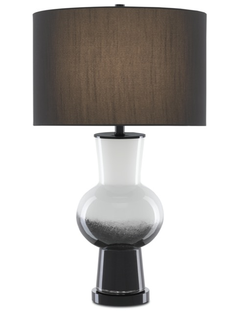 The Duende Black Table Lamp by Currey & Company is illuminated artistry.