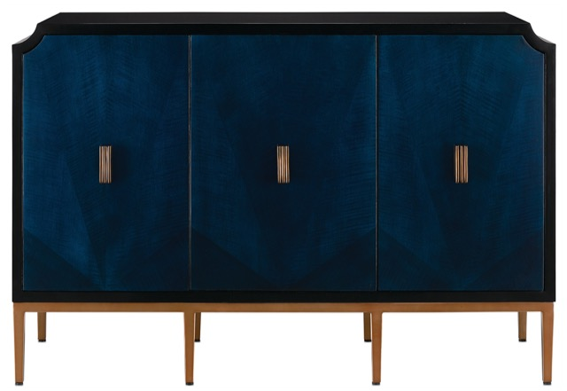 The Kallista cabinet by Currey & Company.
