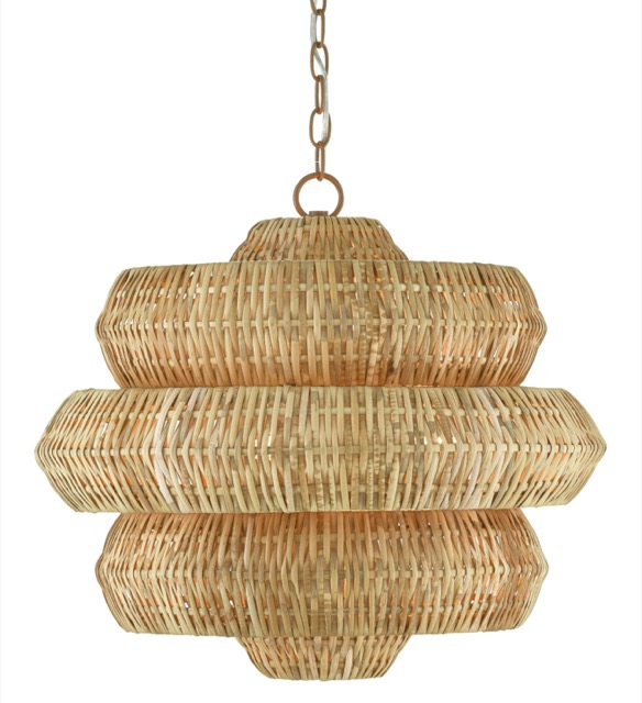 Antibes Small chandelier by Currey & Company