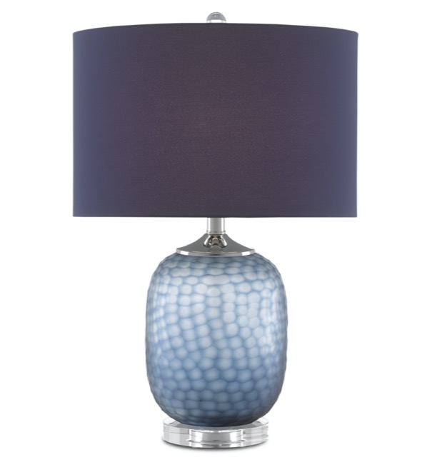 Ionian table lamp by Currey & Company is a favorite of sales rep Margarethe Martin