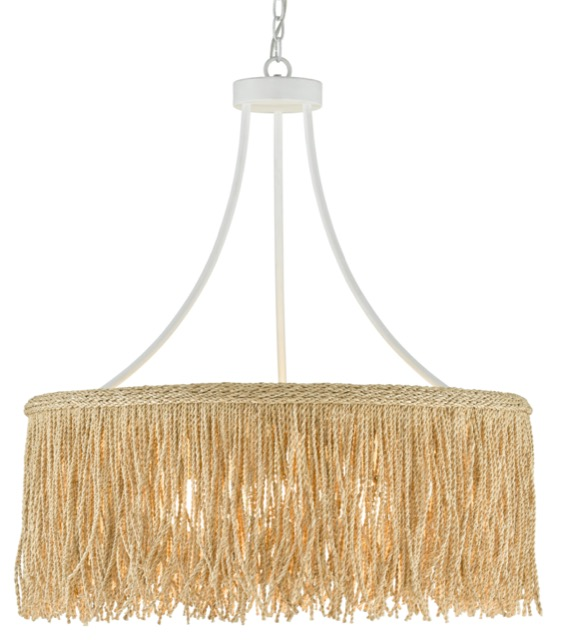 Samoa Chandelier by Currey & Company is a favorite of sales rep Margarethe Martin