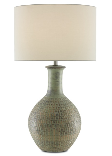 Loro Table Lamp by Currey & Company, a favorite of sales rep Andrea Combet