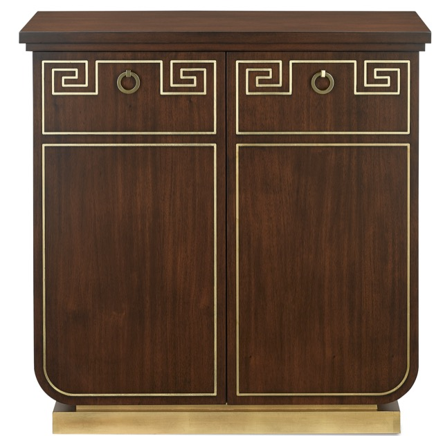Zoe Cabinet designed by Barry Goralnick for Currey & Company.