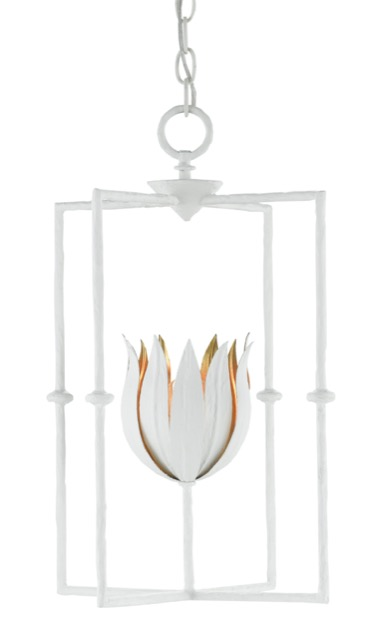 The Tulipano Lantern by Currey & Company is a Sara Hillery favorite.