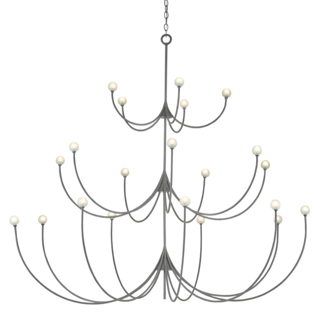 The Carew Large Chandelier is a Sara Hillery favorite.