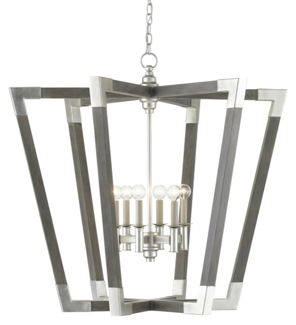 Bastian Gray Chandelier by Currey & Company is one of Vivi's product picks