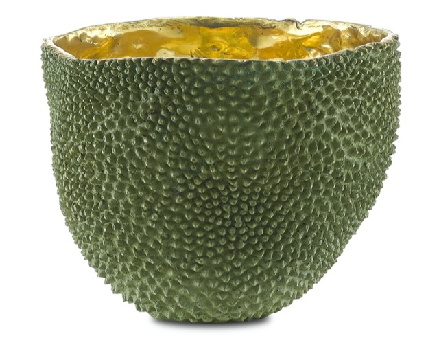 Jackfruit Large Vase by Currey & Company