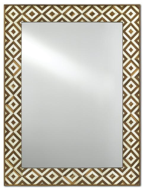 The Persian Large Mirror by Currey & Company is one of Russ Jones' product picks