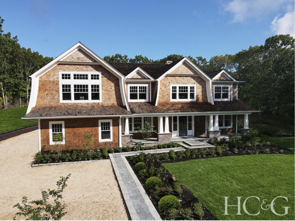 The shingle-style house that is this year's Hamptons Designer Showhouse. Photograph by Anastassios Mentis. Image courtesy HC&G.