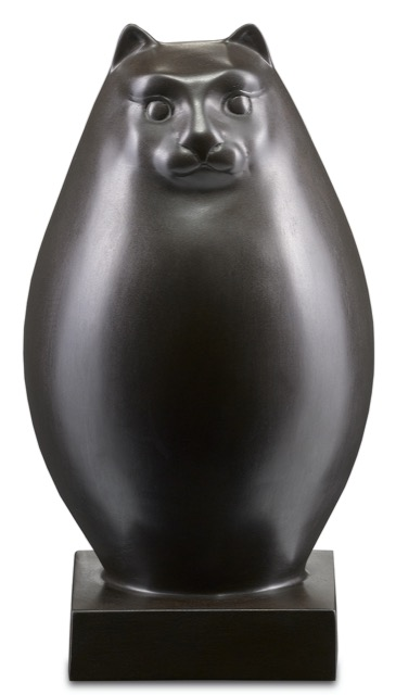 The Currey & Company Le Chat Bronze.