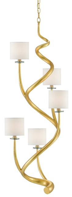 Absalom Chandelier by Currey & Company.
