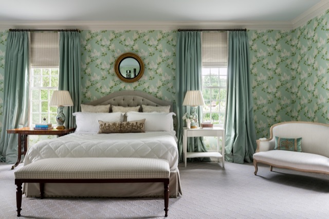 A bedroom designed by Matthew Patrick Smyth included in his latest book filled with beauty.