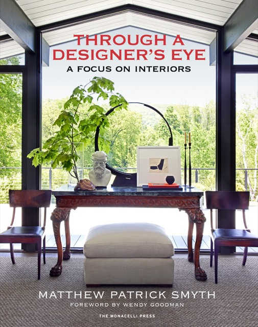The vignette featured on the book cover is from Matthew's home in Salisbury, Connecticut.