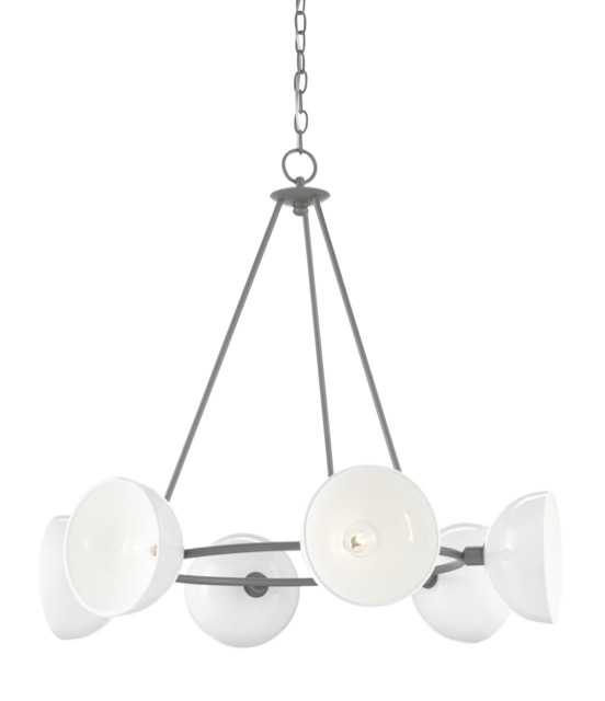 Soba Chandelier by Currey & Company