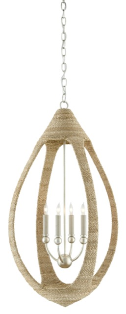 Our Menorca Chandelier new for fall is perfect for designers who like nautical elements.