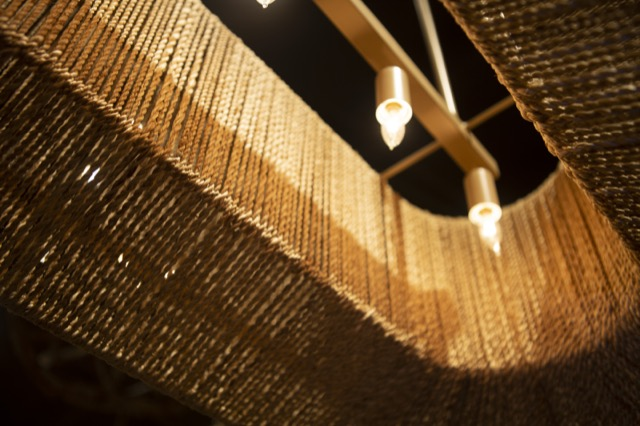 The Currey & Company Mereworth Chandelier debuts during High Point Market.