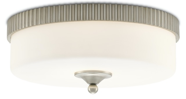 The Currey & Company Bryce Flush Mount.