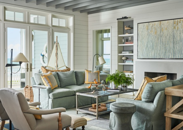 A beautiful living room designed by Luca/Eilers in the book Expressive Interiors. Photo credit: Stephen Karlisch.