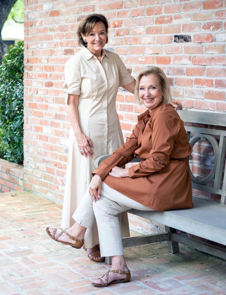 Sandy Luca (left) and Sarah Eilers (right) of Lucas/Eilers Design Associates.