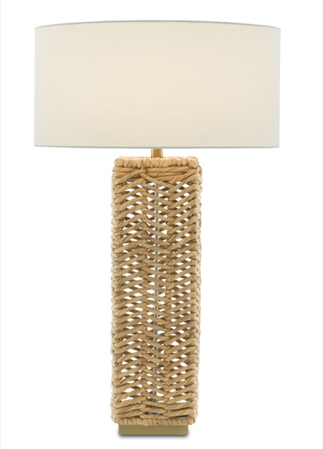 Currey & Company's Torquay Table Lamp.