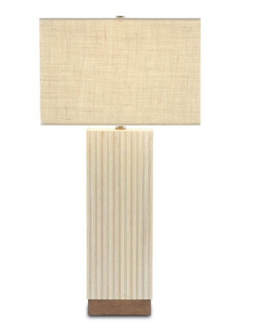 The Dalmeny Table Lamp by Currey & Company is among our products inspired by nature.