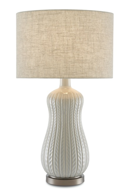 Currey & Company's Mamora Pale Table Lamp.