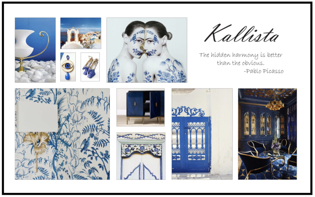 The Currey & Company Kallista Style Story for fall 2020.