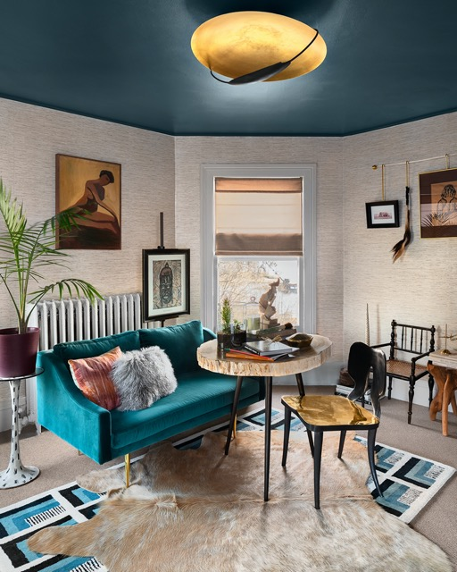 KD Reid's space in the Kingston Design Showhouse. Photo by Ariel Camilo.