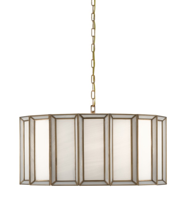 Daze Large Pendant by Currey & Company