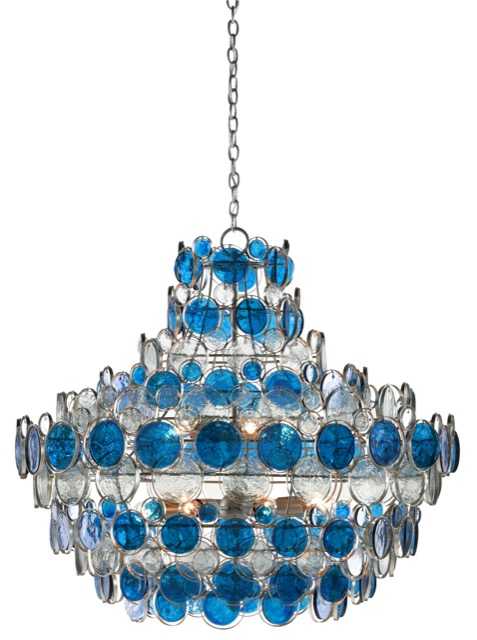 The Galahad Blue Chandelier among our new winter products.