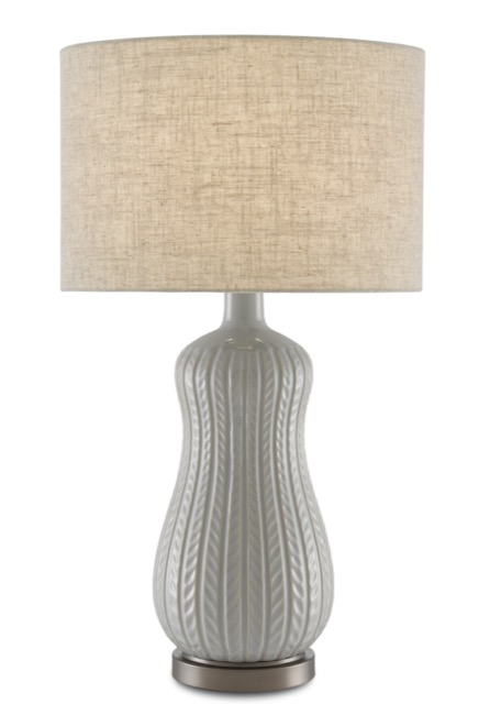 The Currey & Company Mamora Pale Table Lamp