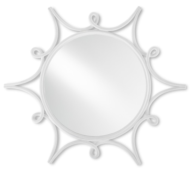 The Currey & Company Sabina Small Mirror