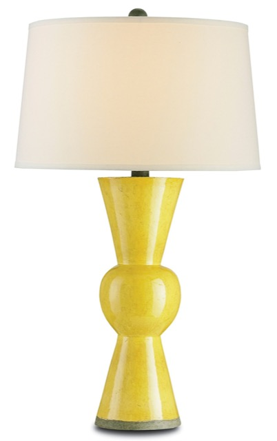 The Currey & Company Upbeat Table Lamp salutes the Pantone Color of the Year for 2021