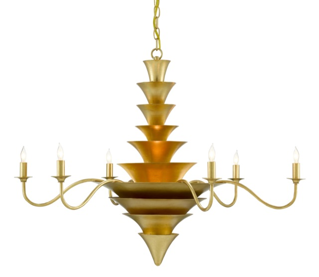 The Currey & Company Sillage Chandelier