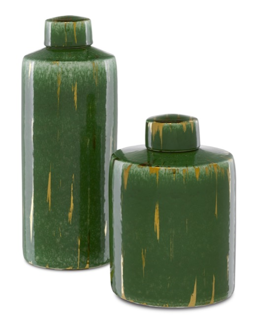 The Chloros Jars are accessory shapes with meaning.