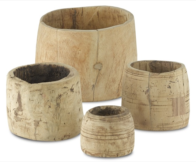 The Currey & Company Gujara Pot Set