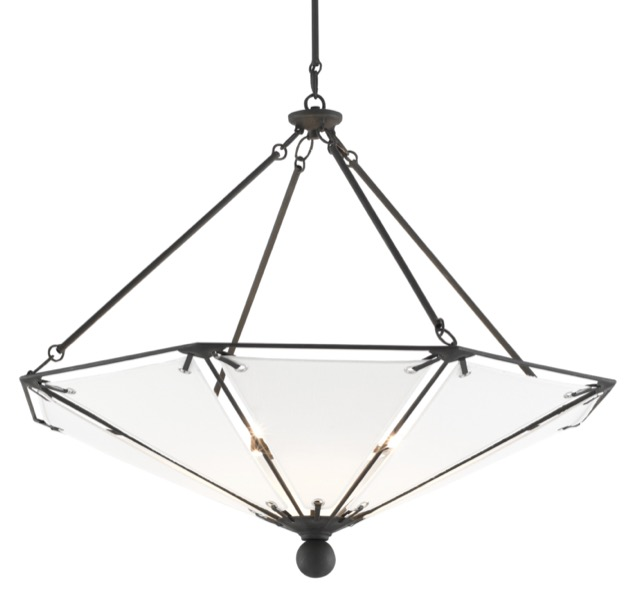 Currey & Company's Ledoux Chandelier.