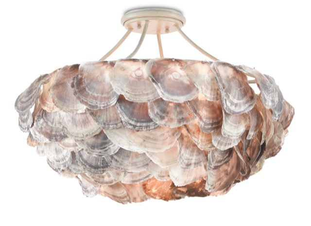 The Currey & Company Seahouse Chandelier