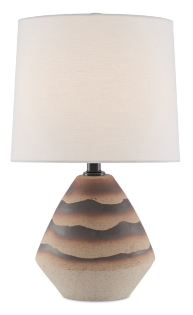 The Ramal Table Lamp is a Currey & Company offering in the Mesa trend