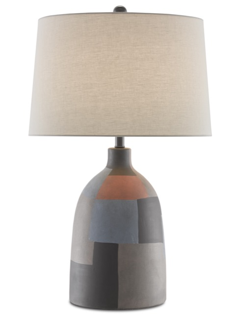 Currey & Company's Russett Table Lamp is Mesa trend perfection